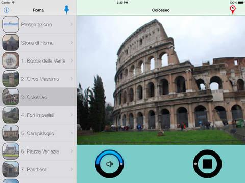 Roma Giracittà - Audioguida iPad Screenshot 1