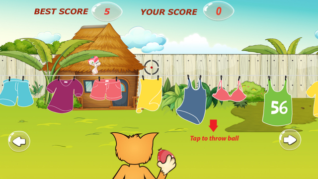 Flappy Cat - Kill mouse by throw water ball Screenshots