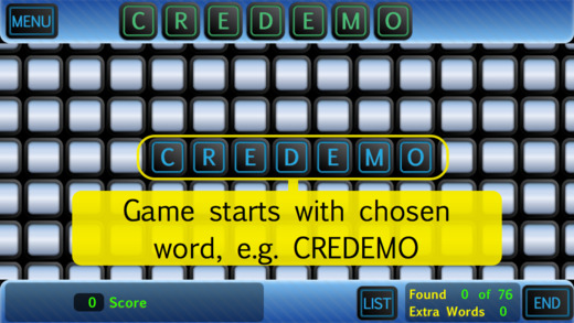 CREDEMO - Word Creation - Free