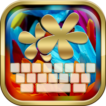 KeyCCM – Flower and Beautiful Blossoms : Custom Color & Wallpaper Keyboard Themes in the Garden Style LOGO-APP點子