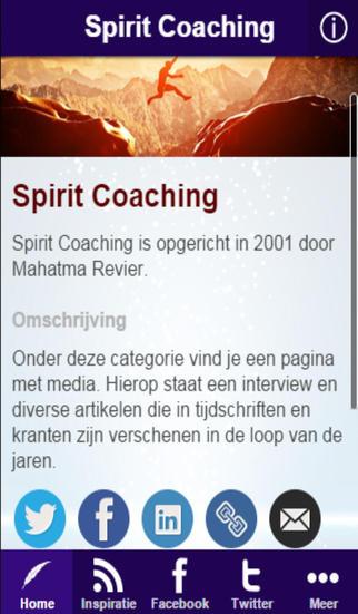 De Spirit Coaching app - voor Geluk
