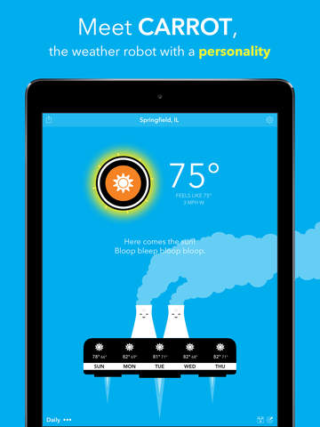 CARROT Weather screenshot 6
