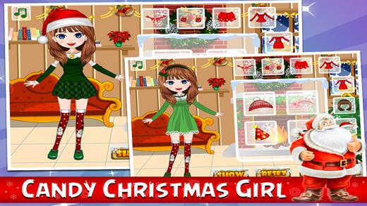 Christmas Girl Make Up Game