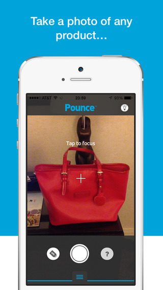 Pounce – Shop by taking photos