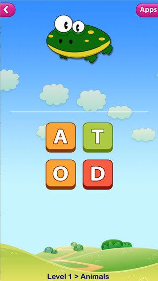 ABC Phonics Words Speller Puzzles - Level 2