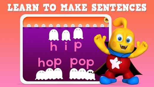 Learn to Read Series : Silly Ghostly Spelling for Montessori FREE