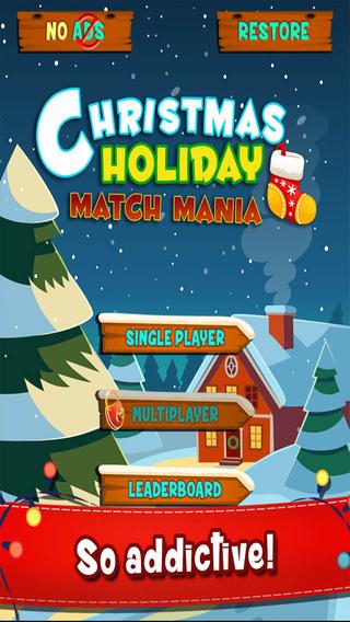 Christmas Match Mania - Santa's Festive Holiday Connect FREE