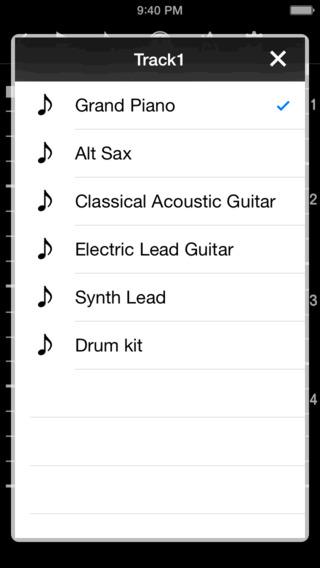SequencerPad iPhone Screenshot 3