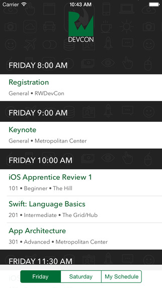 RWDevCon: The Tutorial Conference