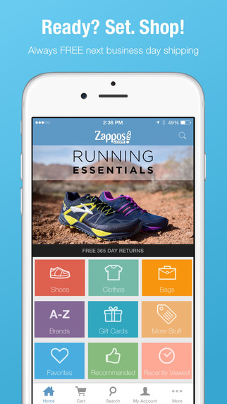 Zappos: Shop shoes clothes. Fast free shipping always.
