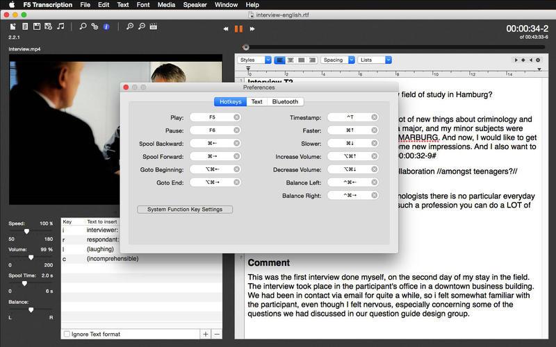 F5 Transcription Free Screenshot - 1