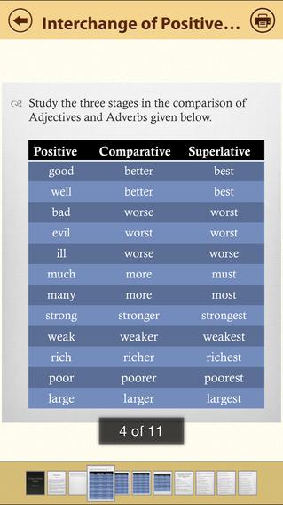 Grammar Express: Degrees iPhone Screenshot 2