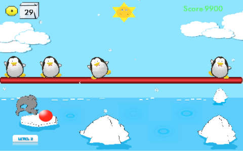 Penguin Swarm for iPhone screenshot 1
