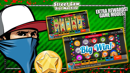 Street Law Slot Machine - Progressive Casino Pokies