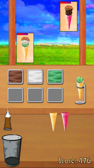 Ice cream shop - cooking game