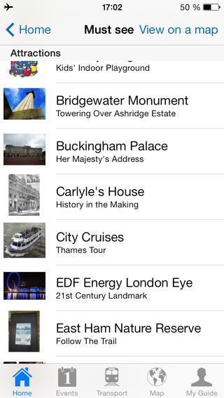London Travel Guide Offline iPhone Screenshot 4