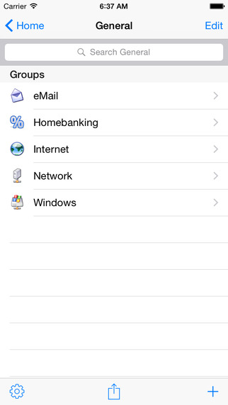 MiniKeePass — Secure Password Manager Screenshots