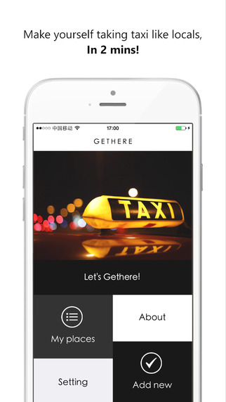 Gethere-Take taxi abroad like locals