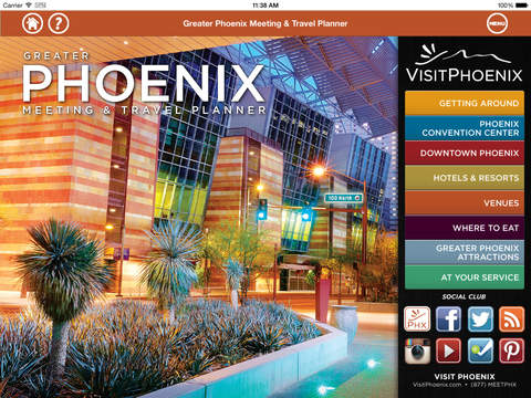 Greater Phoenix Meeting Travel Planner