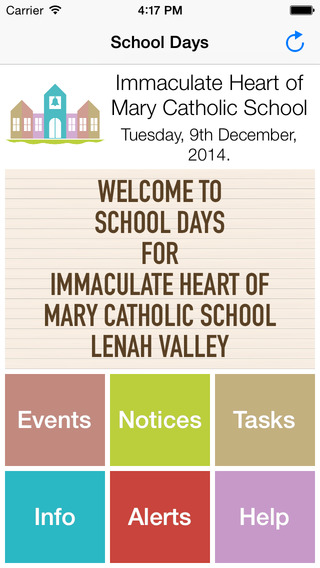 Immaculate Heart of Mary School Days