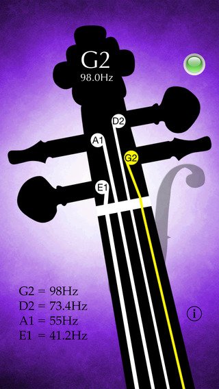 Double Bass Tuner Pro - Tune your double bass with precision and ease - Strings Tuner