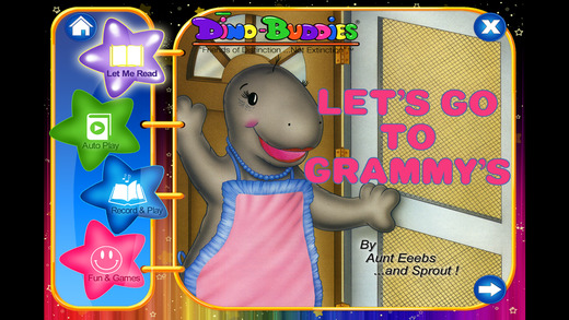 Dino-Buddies – Let's Go To Grammy's Interactive eB