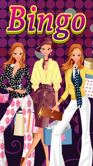 All Fashion World Star Bingo HD - Blitz the Mall and Go To Shoe Heaven Games Free