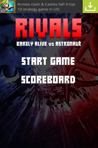 Rivals - Barely Alive Vs Astronaut screenshot 4