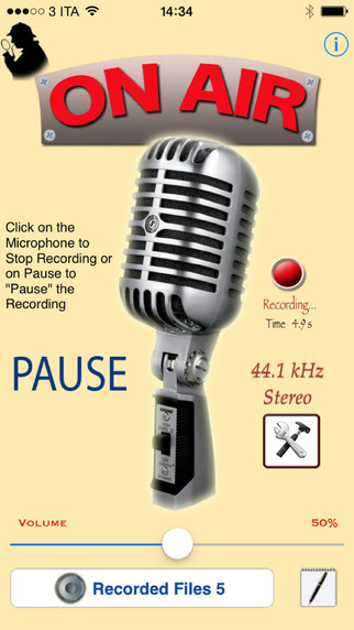 I Voice Recorder - digital audio recorder for music lessons and voice notes