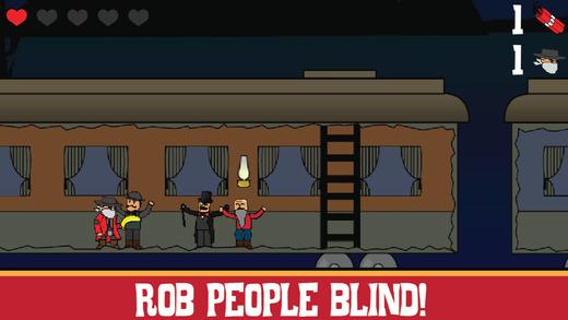 Train Robber Rob