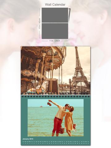 免費下載購物APP|PhotoCal™ - 创建个性照片日历, 可使用myvukee定制、打印、订购和发送 app開箱文|APP開箱王
