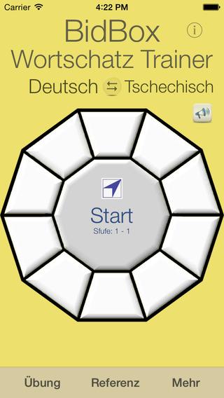 Vocabulary Trainer: German - Czech