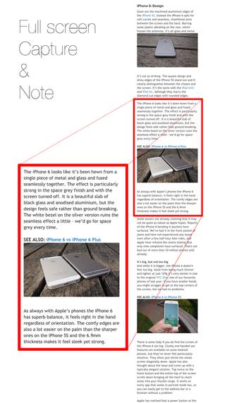 aNote – Safari 全页截图扩展[iPhone]丨反斗限免
