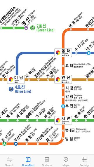 玩交通運輸App|Metro Busan Subway免費|APP試玩