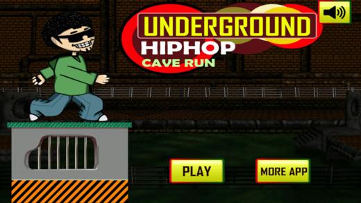Underground HipHop Cave Run Platform Hell Pro