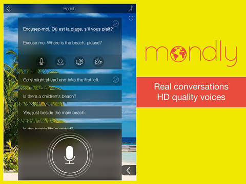Learn French FREE: Interactive Conversation Course with Mondly to speak a language screenshot