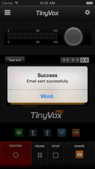 小小录音机:TinyVox Pro Audio Messenger【录音分享】