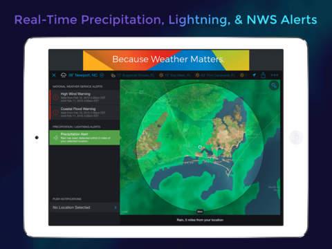 Storm - Radar, Storm Tracking, Hurricanes, Accurate Lightning & Precipitation Alerts