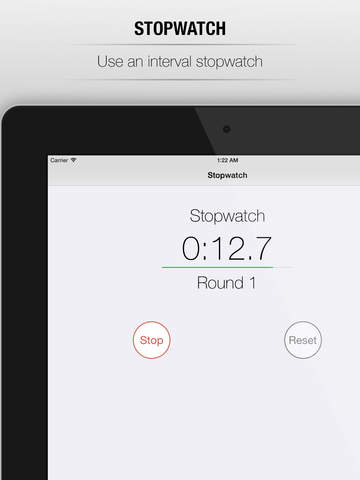 CrossFit Timer - special timer for workout of the day, tabata training, sport training, interval training, interval tabata, crossfit timer and crossfit tabata workout screenshot