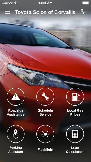 Toyota Scion of Corvallis DealerApp