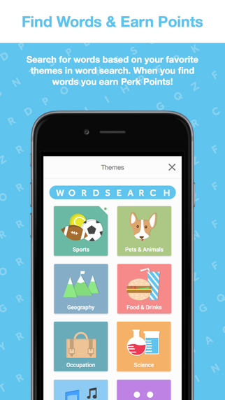 Perk Word Search
