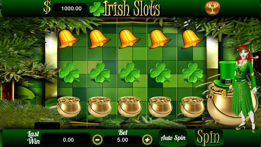 AAA Lucky Irish Free Vegas Casino Machine with Wheel Prize Bonuses and More