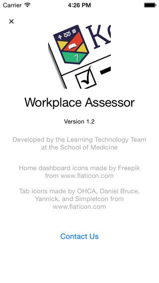 Workplace Assessor