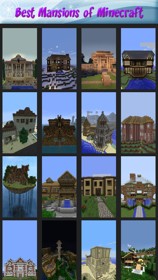 Best Mansions of Minecraft