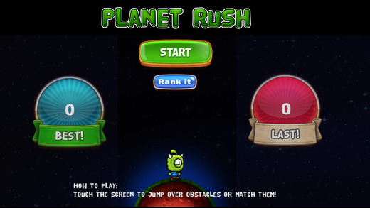 【免費遊戲App】Planet Rushing game-APP點子