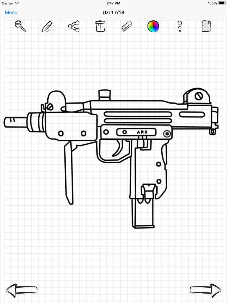 how to draw a pistol dragoart