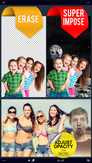 Overlay Pro - Superimpose and blend yr photos