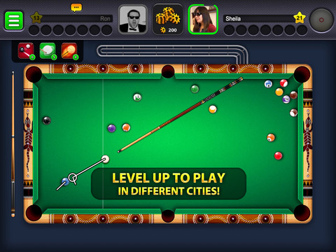 Screenshots of 8 Ball Pool™ for iPad