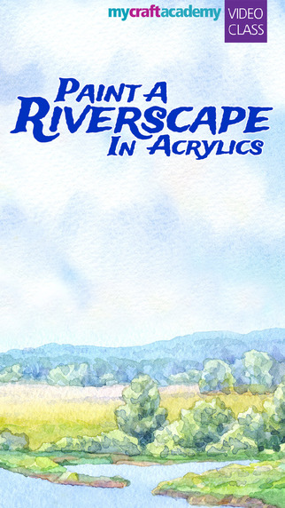 Paint a Riverscape in Acrylics