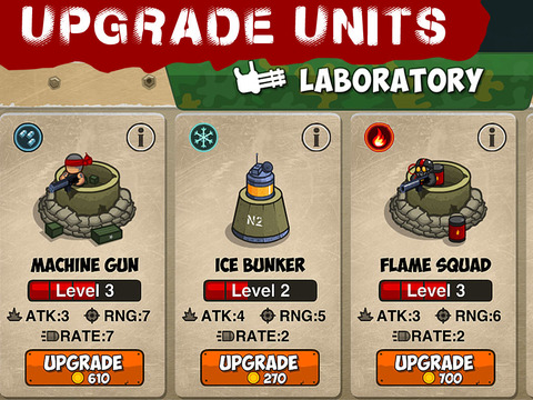 SAF Troopers - Army Defense Battle iPad Screenshot 4